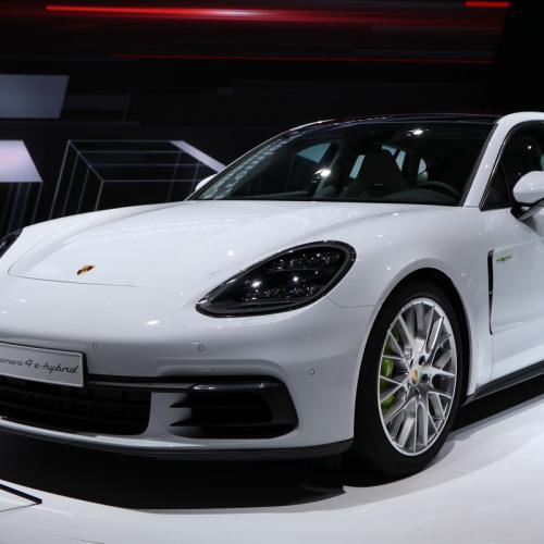 Porsche Panamera II : les photos en direct du Mondial de l'Auto