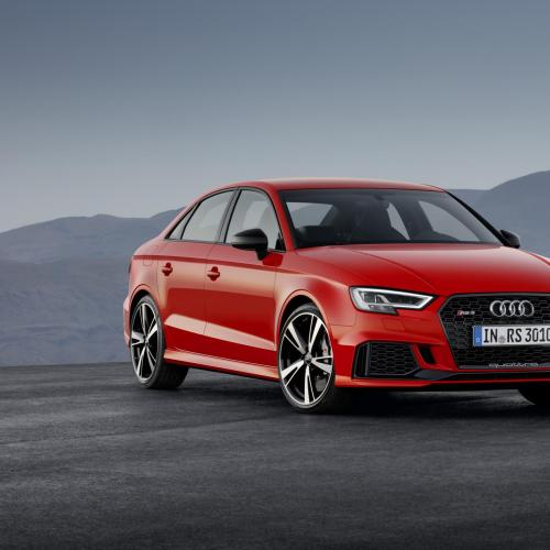 Audi RS 3 Berline : les photos au Mondial de l'Auto