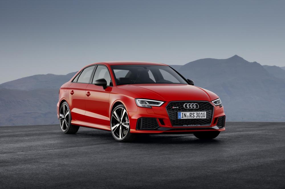 Audi RS 3 Berline : les photos au Mondial de l'Auto