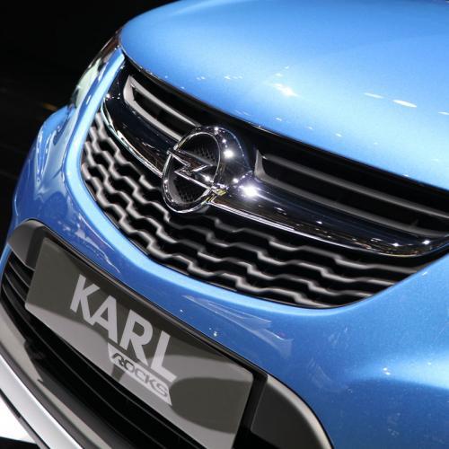 Opel Karl Rocks : les photos en direct du Mondial de l'Auto