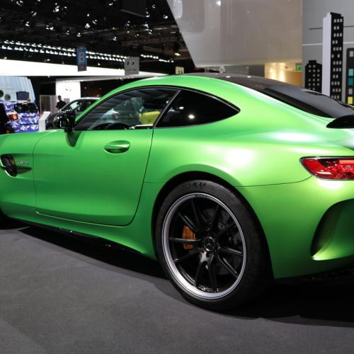 Mercedes-AMG GT R : les photos en direct du Mondial de l'Auto
