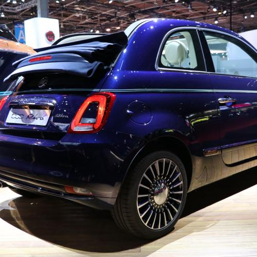 Fiat 500 Riva : les photos en direct du Mondial de l'Auto