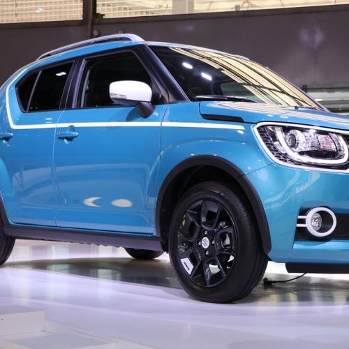 Suzuki Ignis : les photos en direct du Mondial de l'Auto