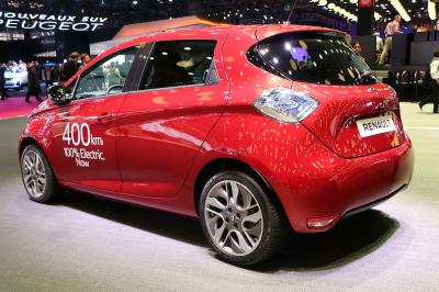 Mondial de l'Auto en direct : Renault Zoe Long Range