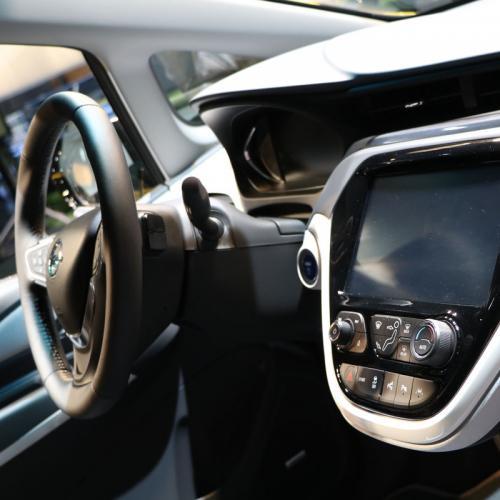 Opel Ampera e : les photos en direct du Mondial de l'Auto