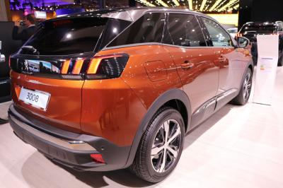 Peugeot 3008 : les photos en direct du Mondial de l'Auto