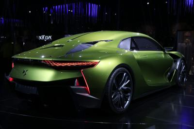 DS E-Tense : les photos en direct du Mondial de l'Auto
