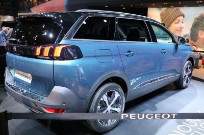 Nouveau Peugeot 5008 : les photos en direct du Mondial de l'Auto