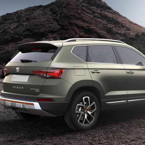 mondial de l 39 auto 2016 seat ateca x perience. Black Bedroom Furniture Sets. Home Design Ideas
