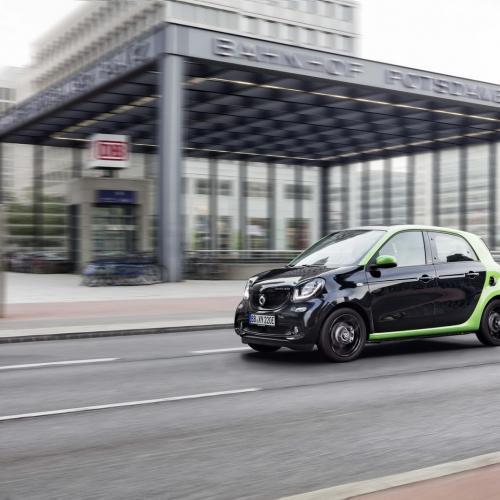 Smart Fortwo et Forfour Electric Drive : toutes les photos
