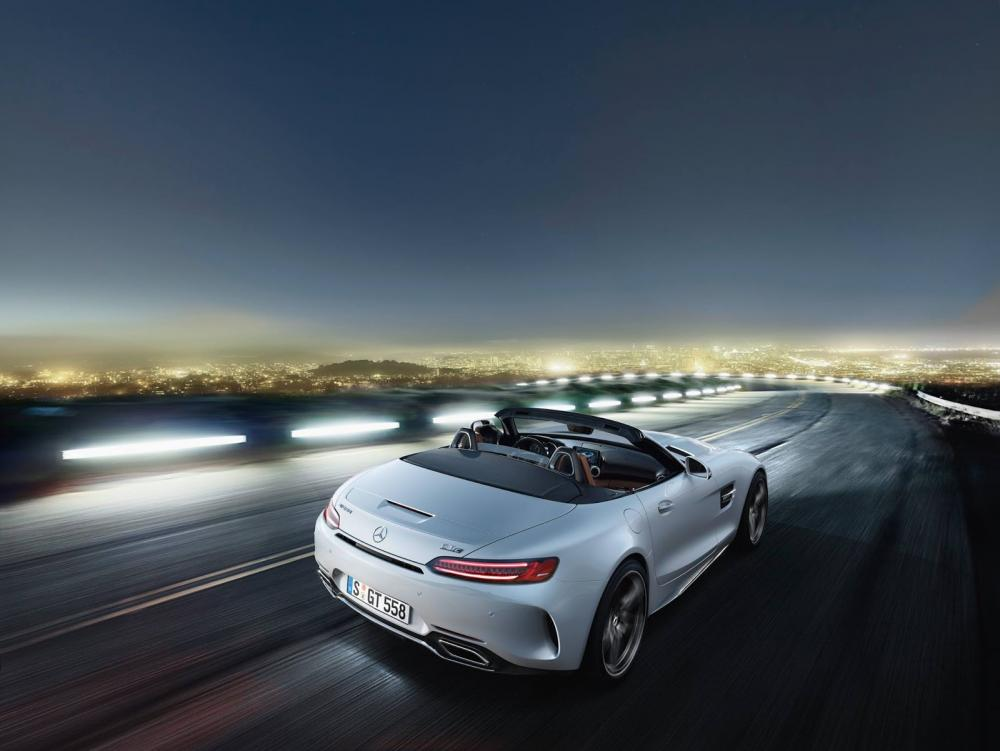 Mercedes-AMG GT Roadster : toutes les photos