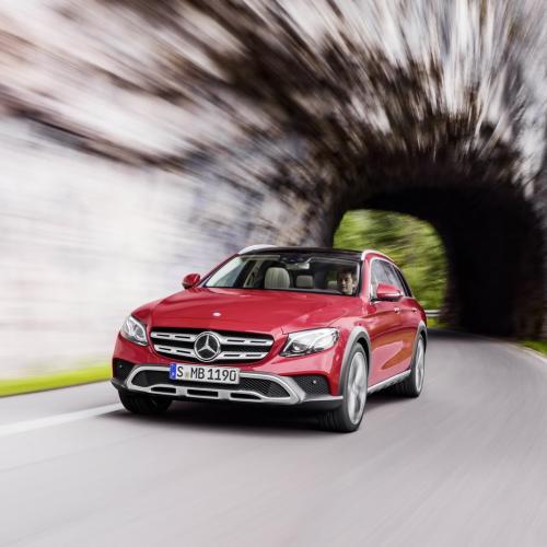 Mercedes Classe E All-Terrain : toutes les photos
