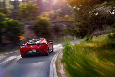 Essai Honda NSX : toutes les photos