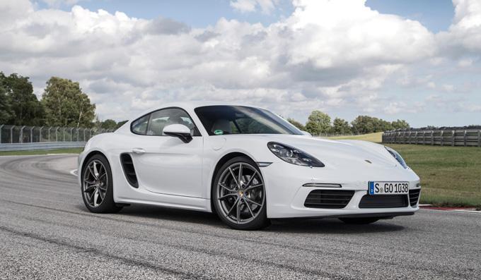 Essai Porsche 718 Cayman : toutes les photos