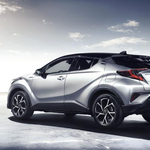 Toyota C-HR : l'intérieur en images