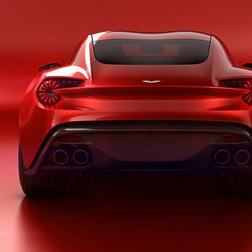 Aston Martin Vanquish Zagato Concept : toutes les photos