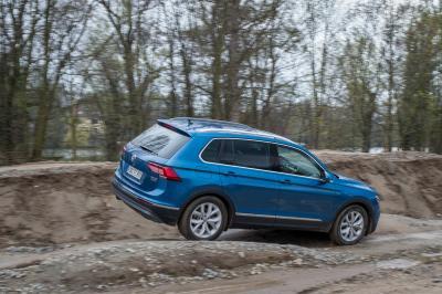 Volkswagen Tiguan 2016 : les photos de l'essai