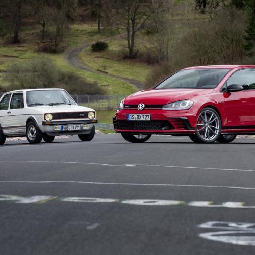 Volkswagen Golf GTI Clubsport S : toutes les photos au Nürburgring