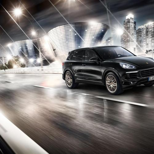 Porsche Cayenne Platinum Edition : toutes les photos