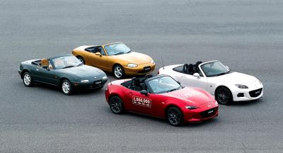 Mazda MX-5 : les photos du millionième MX-5
