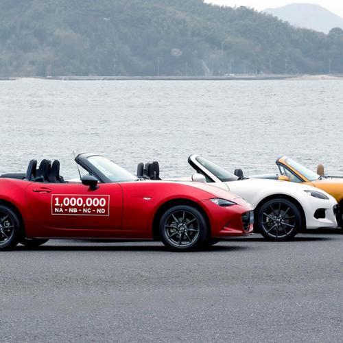 Mazda MX-5 : les photos du millionième MX-5