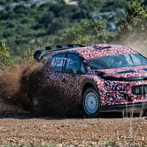 Citroën C3 WRC 2017 : toutes les photos