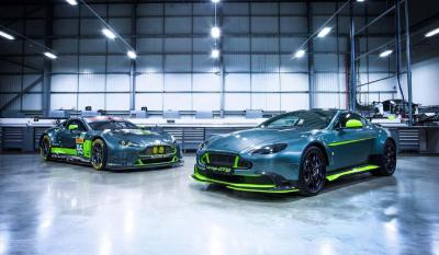 Aston Martin Vantage GT8 : les photos