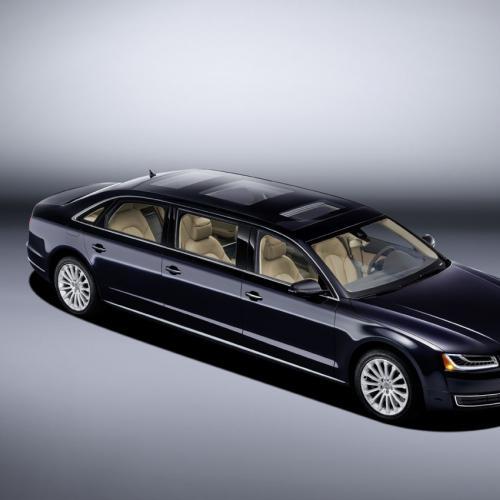 Audi A8 L Extended : toutes les photos