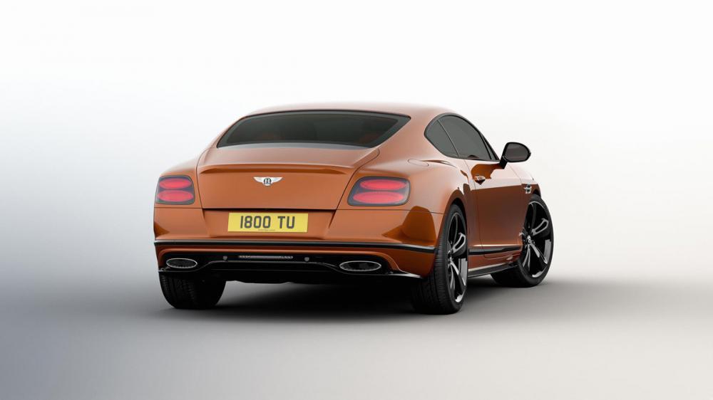 Bentley Continental GT Speed Black Edition : toutes les photos