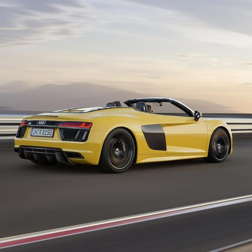 Audi R8 Spyder V10 : les photos
