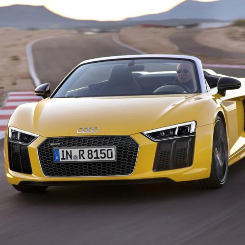 Audi R8 Spyder V10 : les photos