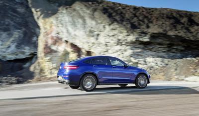 Mercedes GLC coupé : les photos