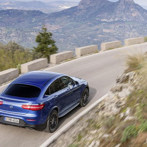 Mercedes GLC coupé : les photos