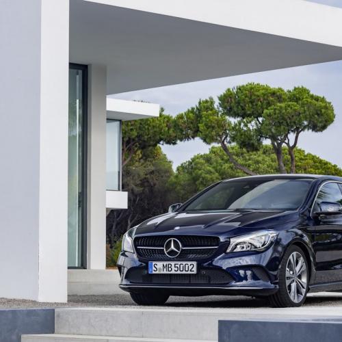Mercedes CLA restylée : toutes les photos