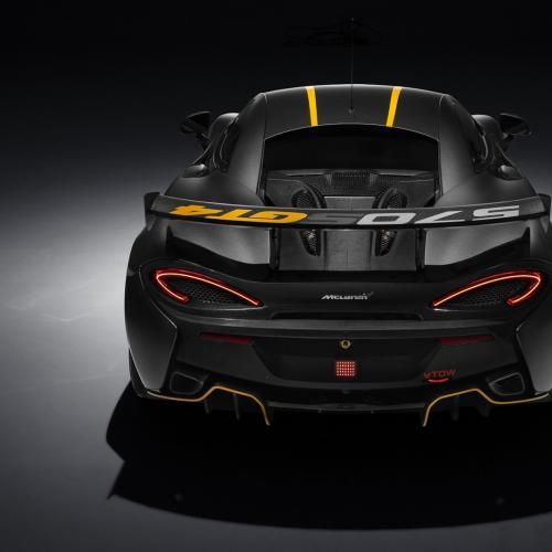 McLaren 570S GT4 : toutes les photos
