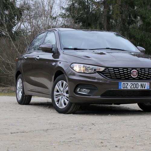 Fiat Tipo : les photos de l'essai