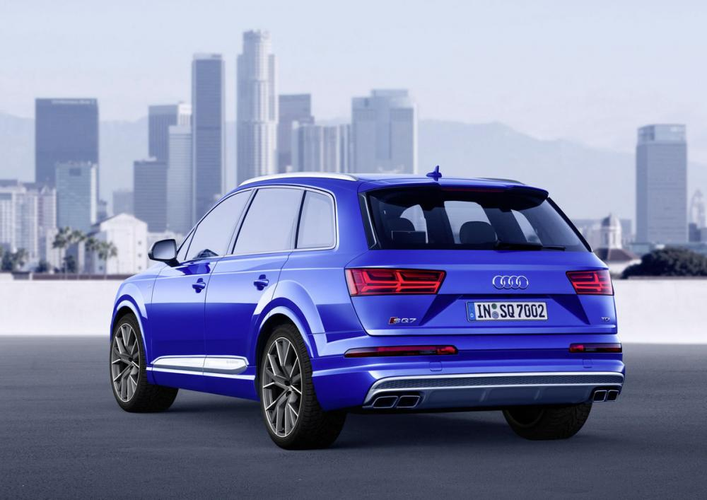 Audi SQ7 TDI : toutes les photos