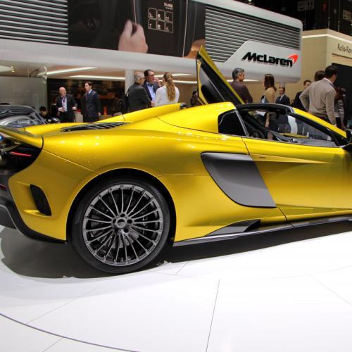 McLaren 675LT Spider : les photos du salon de Genève