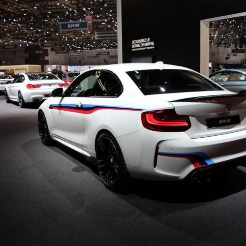 BMW M2 : les photos en direct de Genève