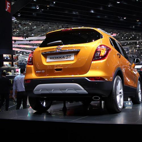 Opel Mokka X : les photos du salon du Genève