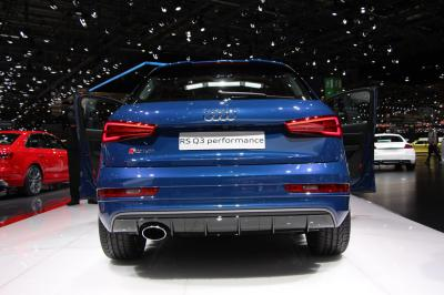 Audi RS Q3 Performance : les photos en direct de Genève