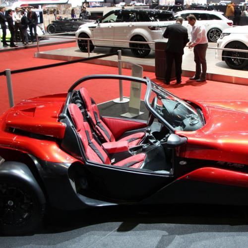Secma F16 Turbo : les photos au salon de Genève