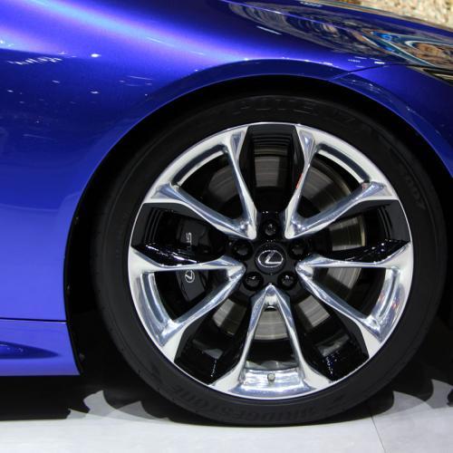 Lexus LC 500h : les photos en direct de Genève