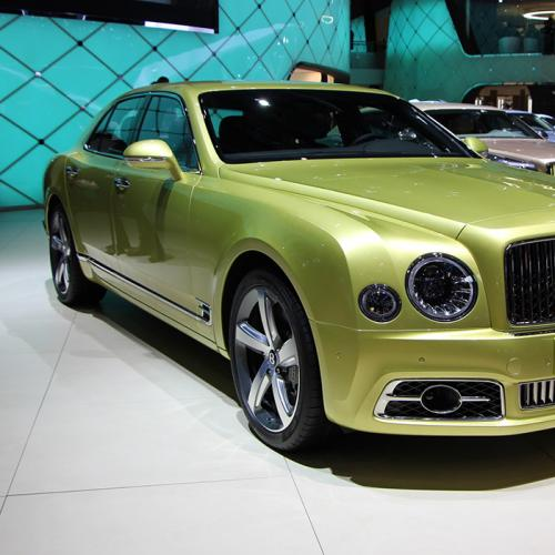 Bentley Mulsanne restylée : les photos en direct de Genève