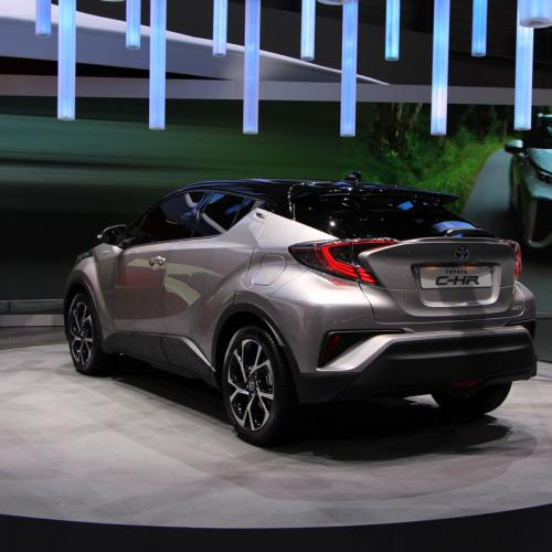 Toyota C-HR : les photos en direct de Genève