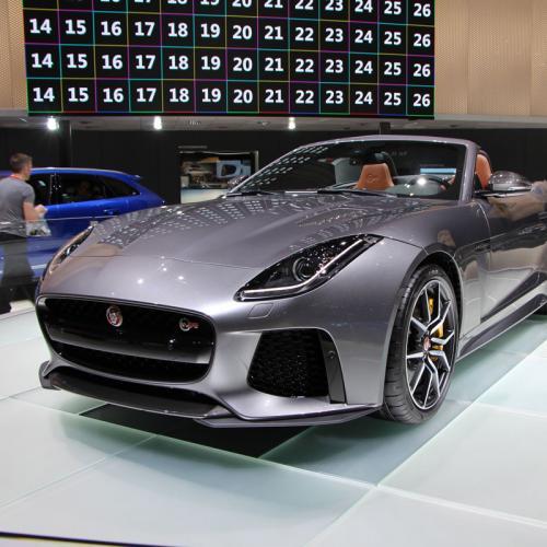 Jaguar F-Type SVR : les photos en direct de Genève