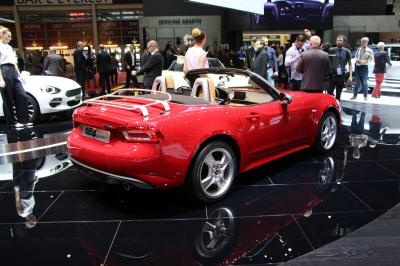 Fiat 124 Spider : les photos en direct de Genève