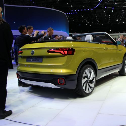 Volkswagen T-Cross Breeze Concept : les photos en direct de Genève