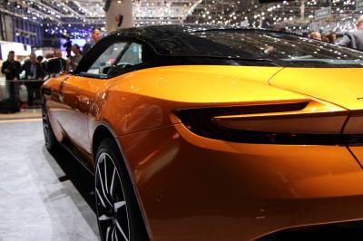 Aston Martin DB11 : les photos en direct de Genève