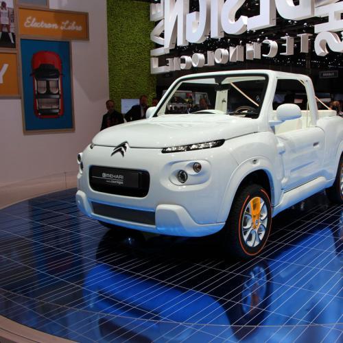 Citroën E-Mehari : toutes les photos au salon de Genève